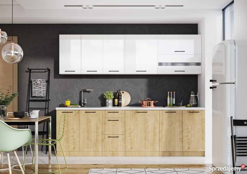 Kuchynská linka Cayon, 260cm + pracovní deska