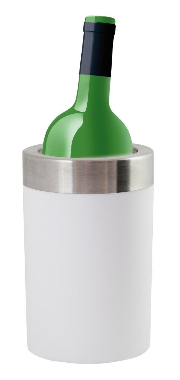Chladič na víno INVOTIS Cold As Ice, bílý