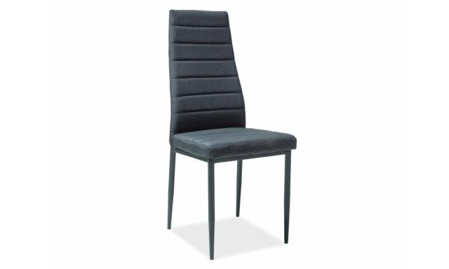 Moderní jídelní židle SIG265, černá