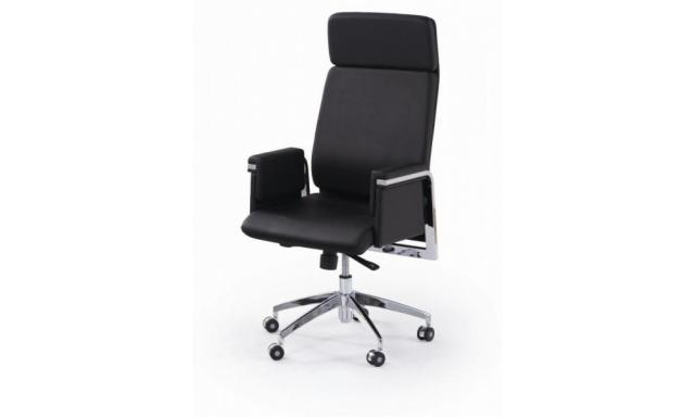 Kancelářské křeslo S641, černé