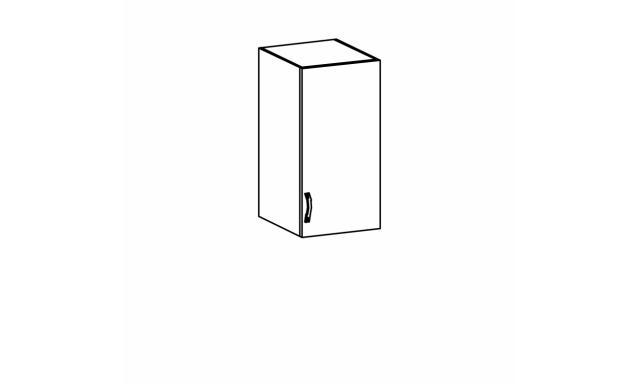 REVAL horní skřínka 30cm, levá
