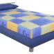 Čalouněné postele 140 x 200 cm – LEVNĚ