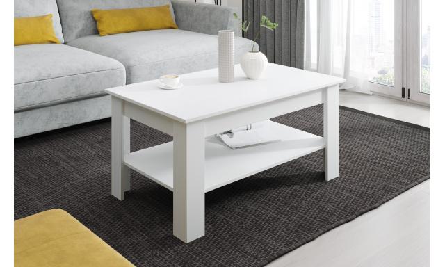 Moderní konferenční stůl Vareza, bílý