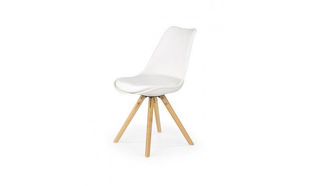 Jídelní židle H201, bílá