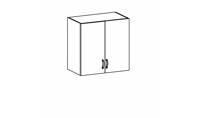 REVAL horní skřínka 80cm