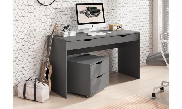 PC stůl Marida, šedý