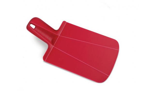 Skládací krájecí prkénko JOSEPH JOSEPH Chop2Pot™ Malé, červené