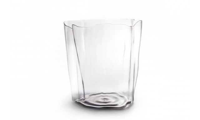Multifunkční nádoba QUALY Crystal Flow Bin, čirá