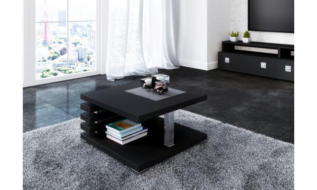 Moderní konferenční stůl Token, černý mat