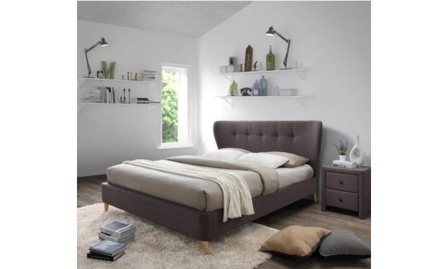 Čalouněná postel H62 - 160x200cm