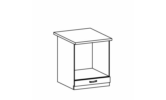 REVAL dolní skřínka 60cm - spotřebičová