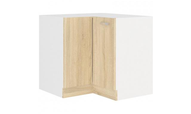 SAVA sonoma dolní skřínka 90cm - rohová
