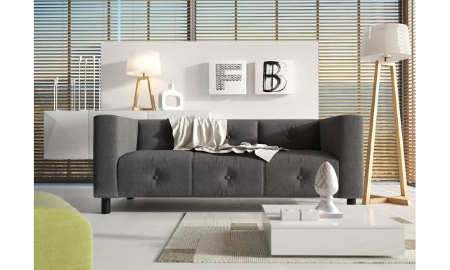 Designová sedací souprava Levander, 3+2+1, Alcantara Nubuk 03 béžová