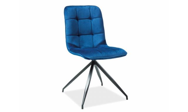 Jídelní židle Domika, modrá