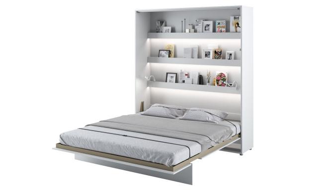 Sklápěcí postel Cione 160x200cm, bílá