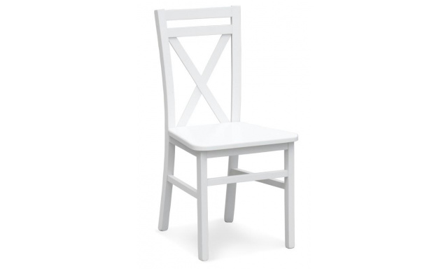 Jídelní židle Derek, bílá