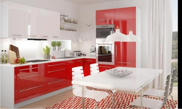 Luxusní kuchynská linka Platinum G, vysoký lesk!
