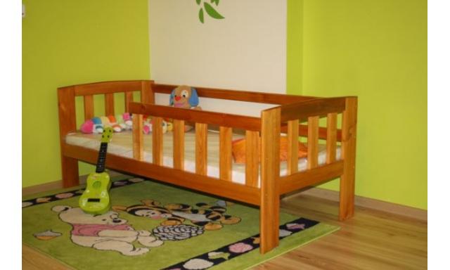 Dětská postel z masivu Agata, 160x70, olše