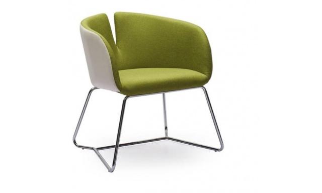 Relaxační židle Prego, zelená