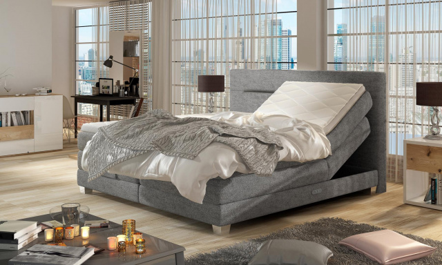 Kvalitní box spring postel Medica 160x200cm
