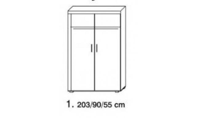 Ambala skřín 1