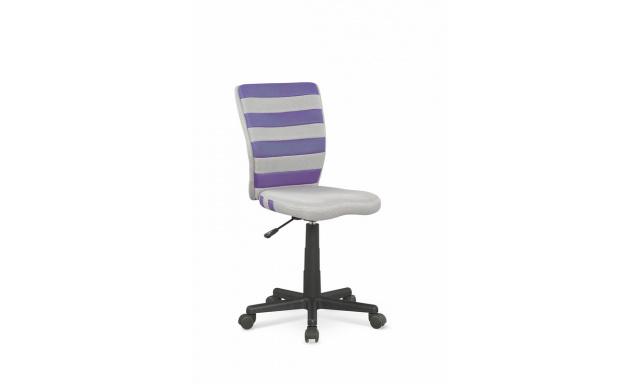 Kancelářské křeslo Fogo, fialová/šedá