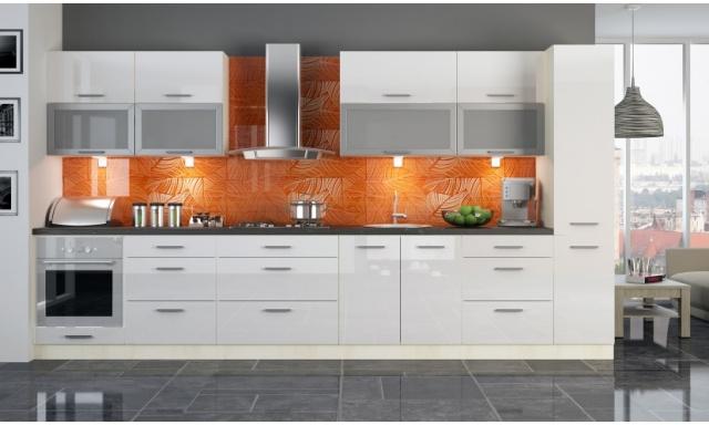 Luxusní kuchynská linka Platinum P, vysoký lesk!