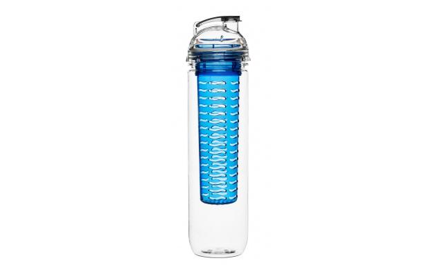 Láhev s difuzérem SAGAFORM Fresh, 800ml, modrá