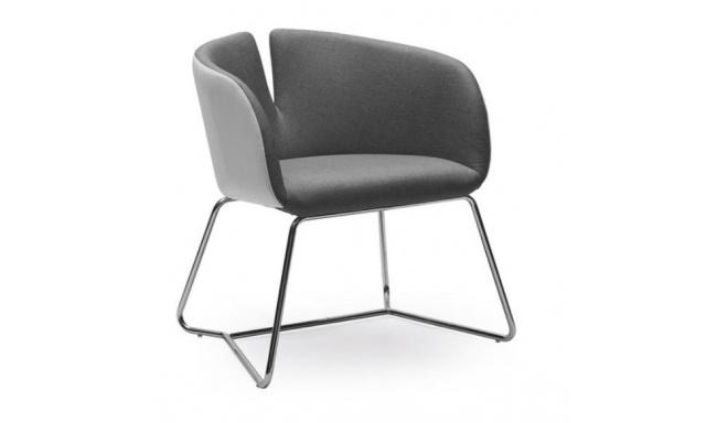 Židle Prego, šedá