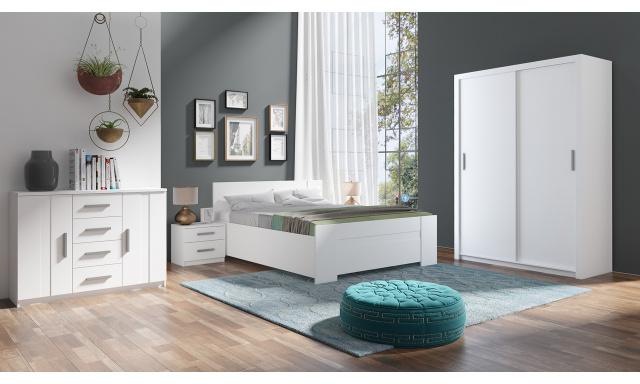 Ložnice Bern A, bílá