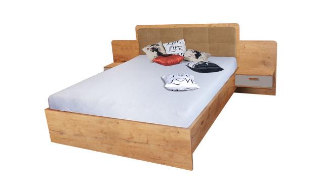 Manželská postel Efka 160x200cm, lancelot