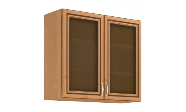 KARA horní skřínka 80cm - vitrína