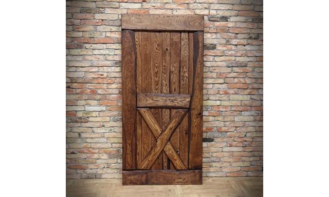 Luxusní dubové zasouvací dveře Basta