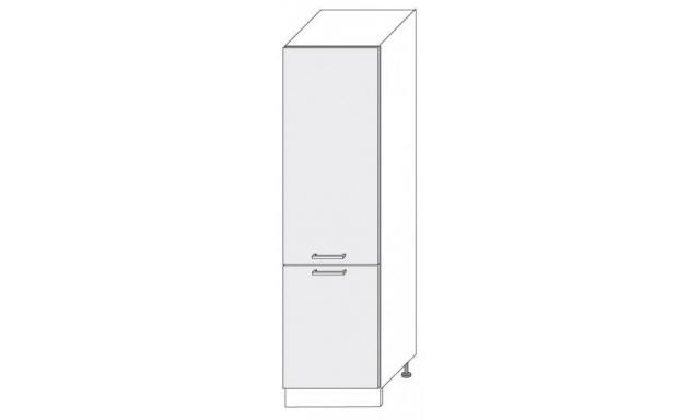 PLATINUM dolní skřínka 60cm 14DL/60 lednicová