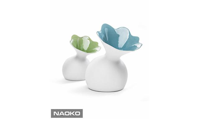 Váza SAGAFORM Lily, modrá, velká