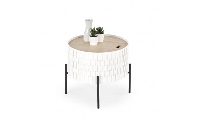 Konferenční stolek H7651, bílý