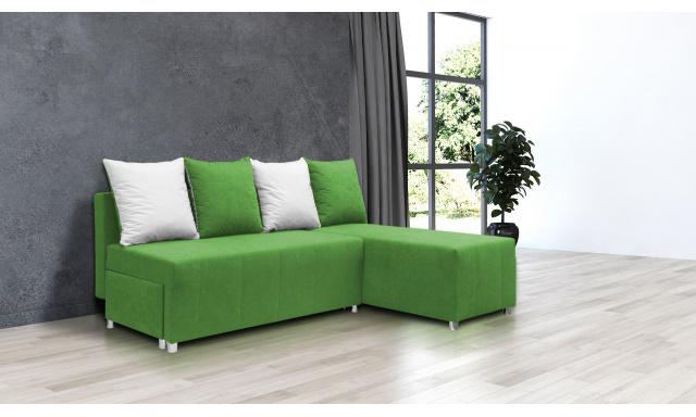 Nejlevnější sedací souprava Filip 1, zelená