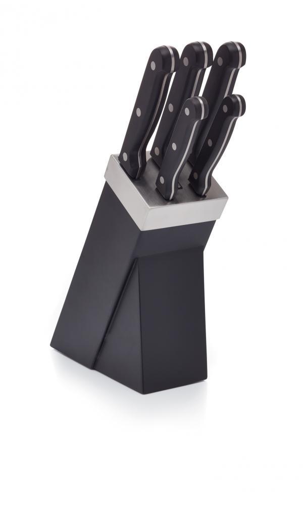 Stojan s no i kitchen craft knife block set for Kitchen craft knife set