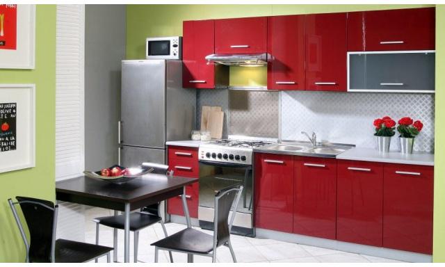 Luxusní kuchynská linka Platinum A, vysoký lesk!
