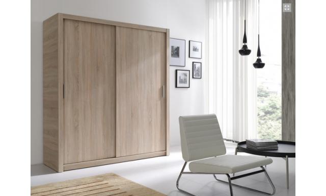 Moderní šatní skřín Ralf 180, sonoma