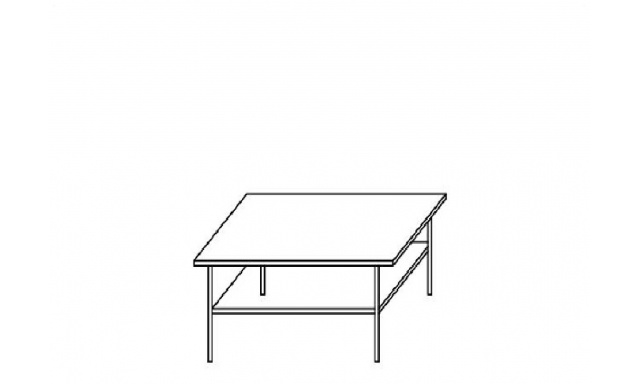 Ambala konferenční stůl 9 švestka
