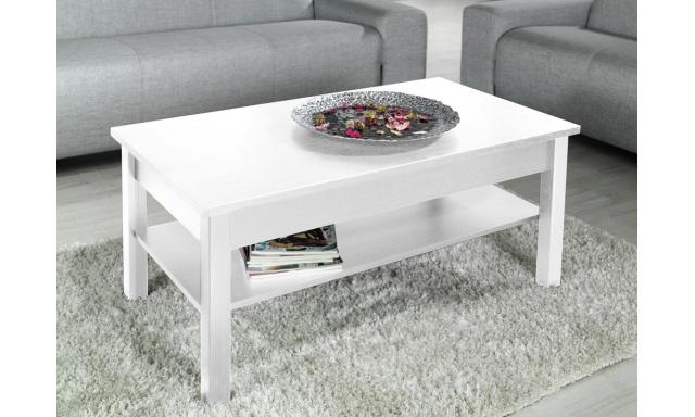 Moderní konferenční stůl Cama bílý