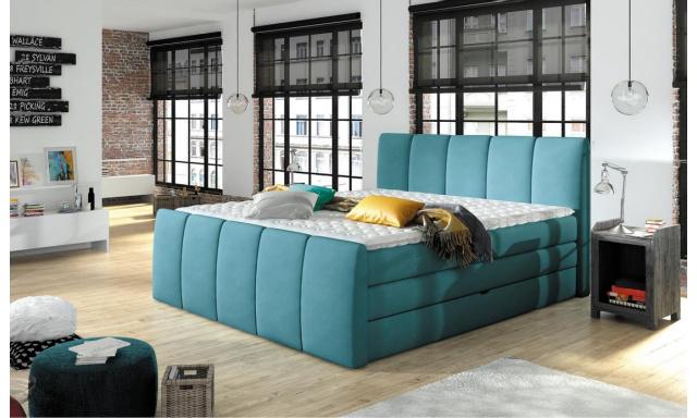 Luxusní box spring postel Form 180x200