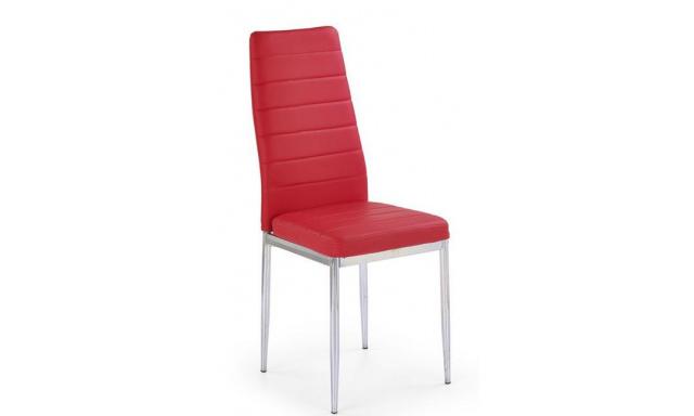 Nejlevnější jídelní židle H546, červená