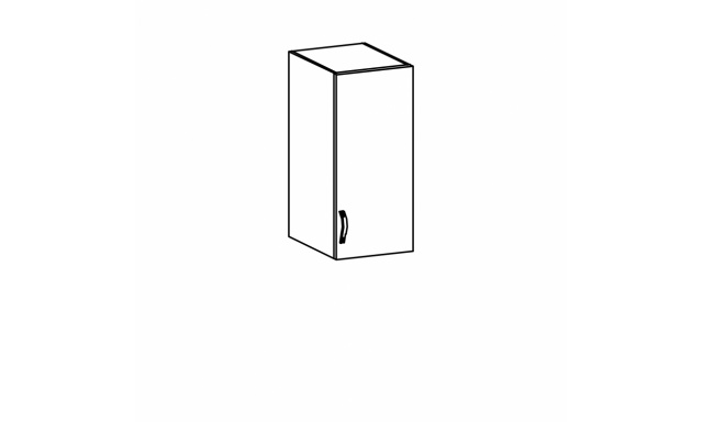 SYCILIE horní skřínka 30cm, pravá