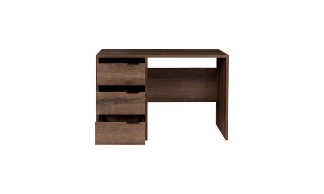 PC stůl Drake, dub monastery/černý lesk