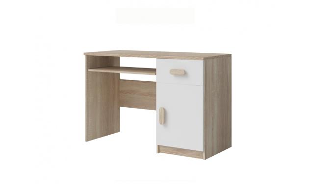 PC stůl Stone 08, sonoma/bílá