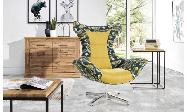 Designové relaxační křeslo Siena