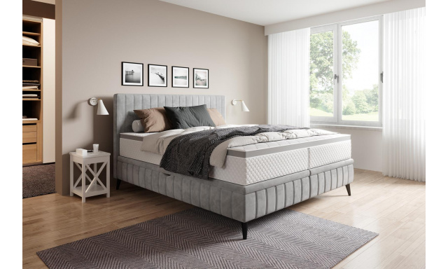 Kvalitní postel Corso 180x200cm s výběrem potahu!
