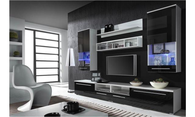 Obývací stěna Una 2 black